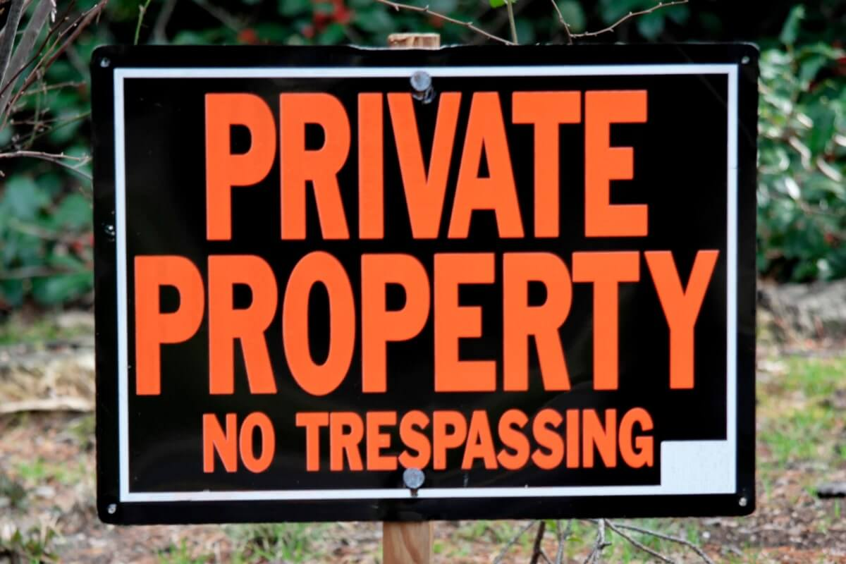Are Driveways Private Property?