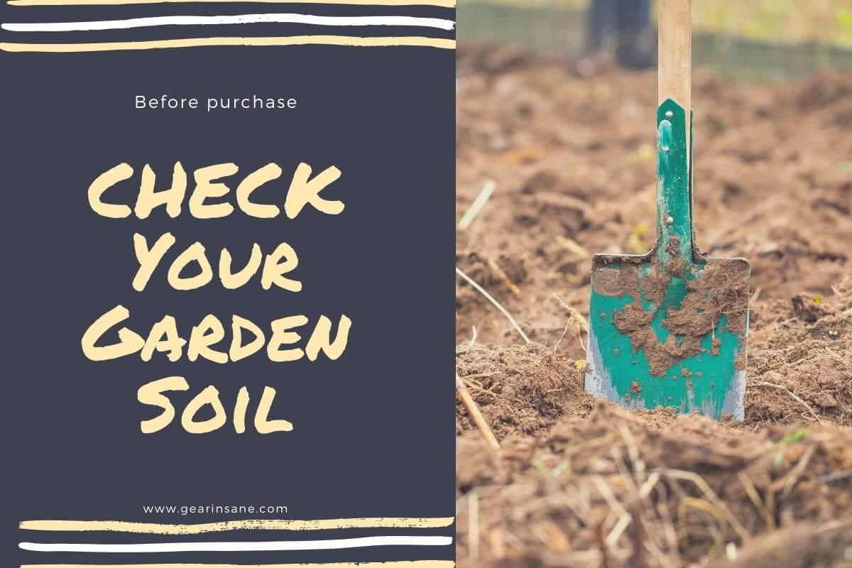 Before Purchase a Tiller Check Your Garden Soil