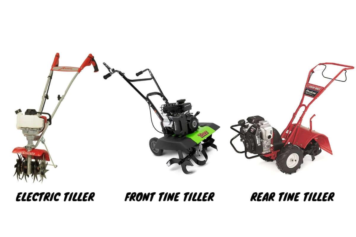 Types of Garden Tiller
