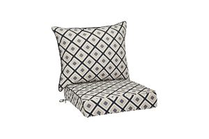 Amazon Basics Patio Seat & Back Cushion Set