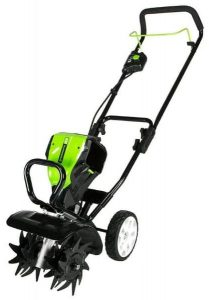 Greenworks Pro 10-Inch Cordless Electric Cultivator