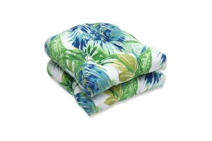 Pillow Perfect OutdoorIndoor Soleil Tufted Seat Cushions