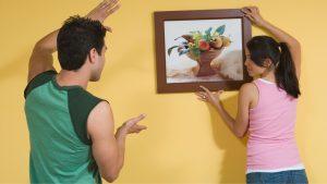 Hang paintings
