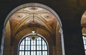 Decorate ceiling